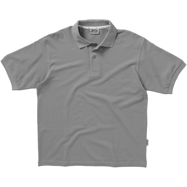 Forehand short sleeve men's polo - Grey / XXL
