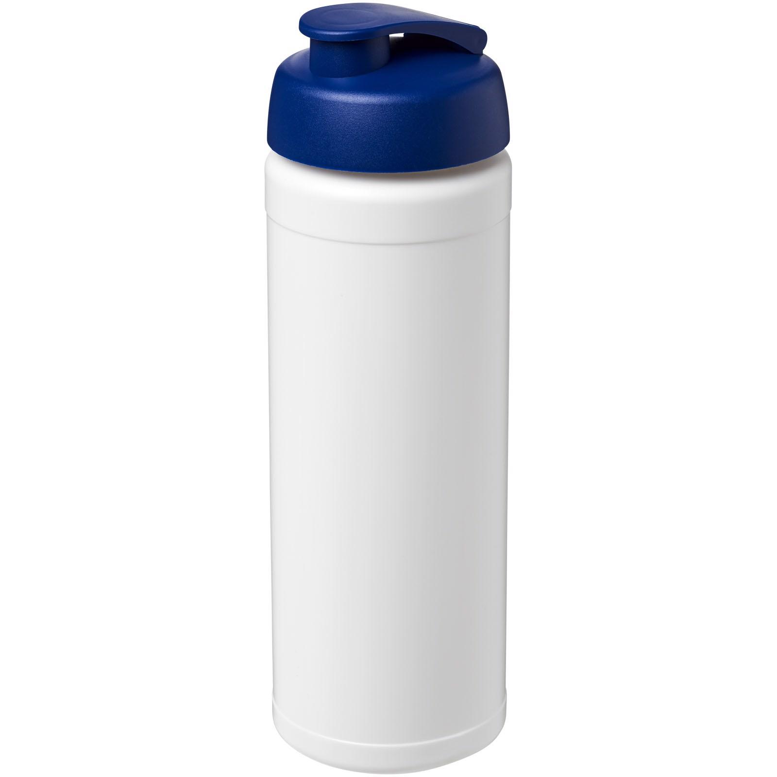 Láhev s vyklápěcím víčkem Baseline® Plus 750 ml - Bílá / Modrá