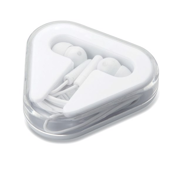 Earphones in PS case Musiplug - White