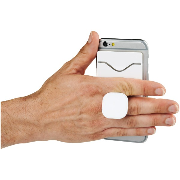 Purse držák mobilního telefonu s peněženkou - Bílá
