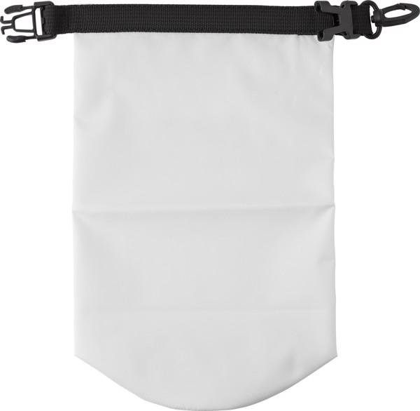 Polyester (210T) watertight bag - White