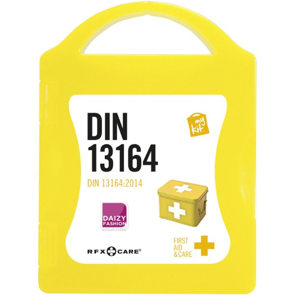 MyKit DIN first aid kit - Yellow