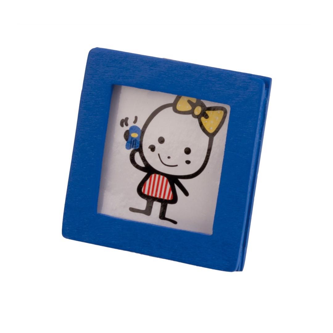 Portafotos Loto - Azul