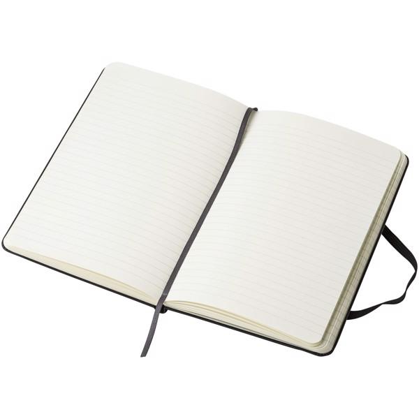 Classic Hardcover Notizbuch M – liniert - Schwarz