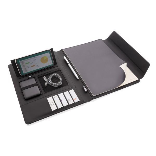 Portfolio A4 s bezdrátovým nabíjením a powerbankou Fiko