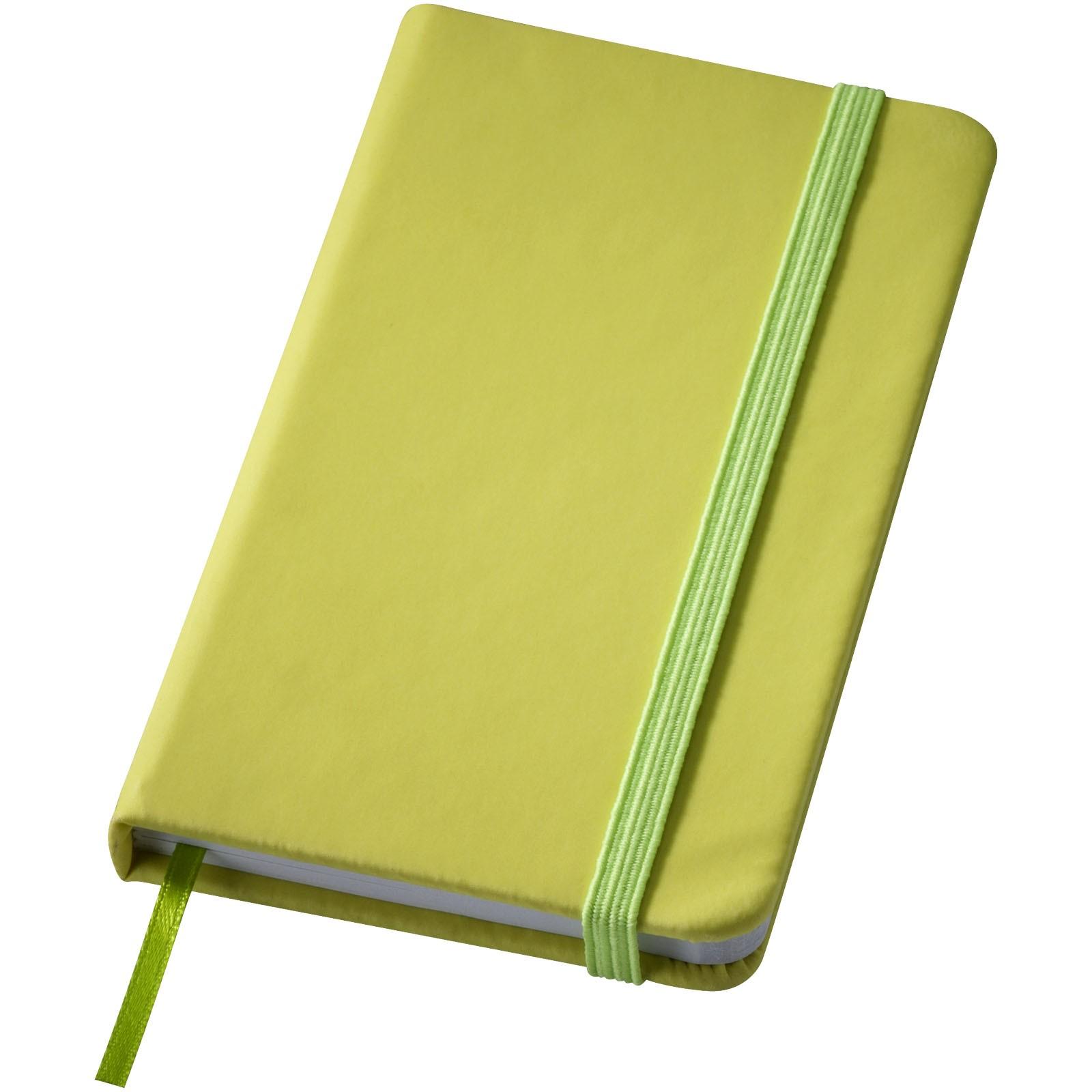 Malý zápisník s pevnou obálkou Rainbow - Limetka