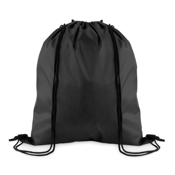 Stahovací batoh z polyesteru Simple Shoop - black