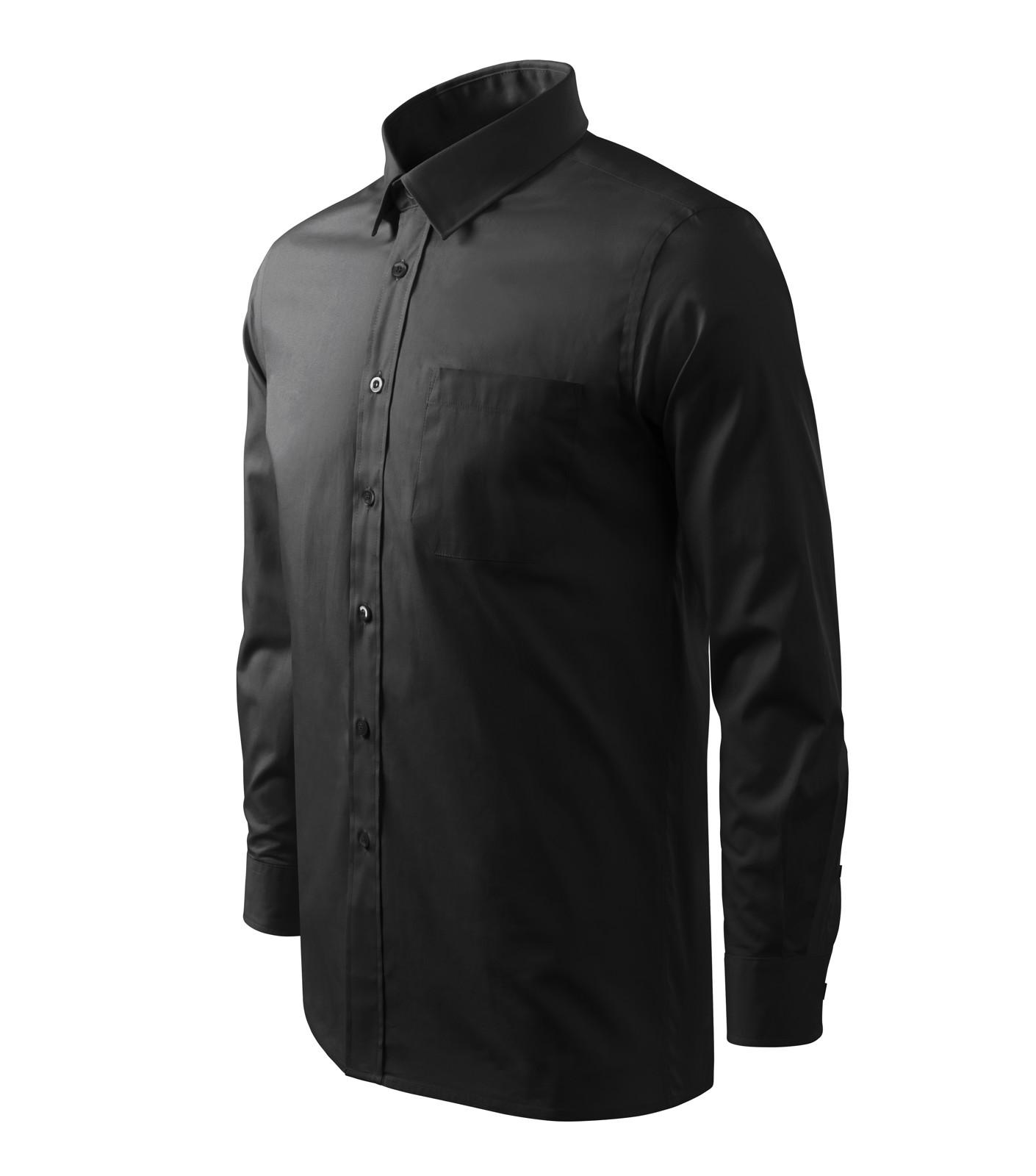 Košile pánská Malfini Style LS - Černá / M