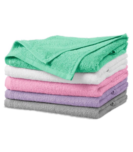 Ručník unisex Malfini Terry Towel - Bílá / 50 x 100 cm