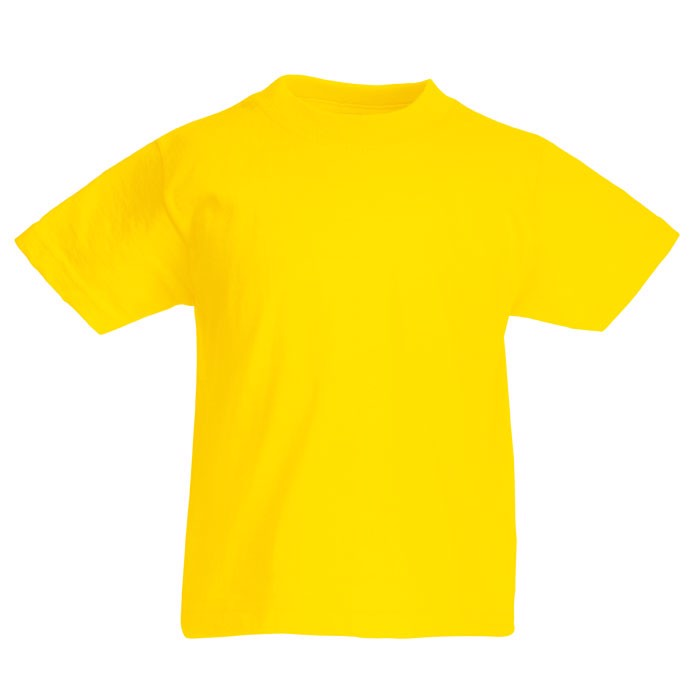 Kinder T-Shirt 165 g/m² Kids Value Weight 61-033-0 - Yellow / S