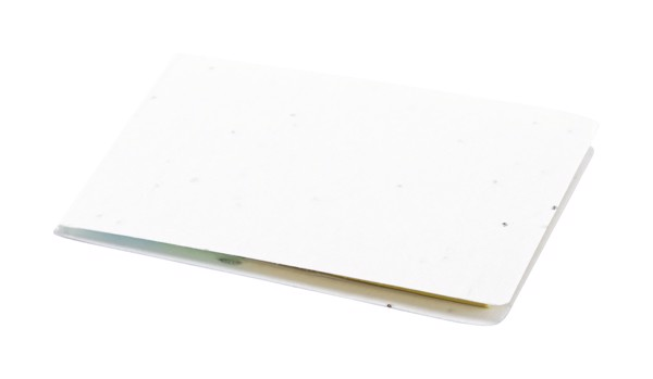 Seed Paper Adhesive Notepad Tinsal - White