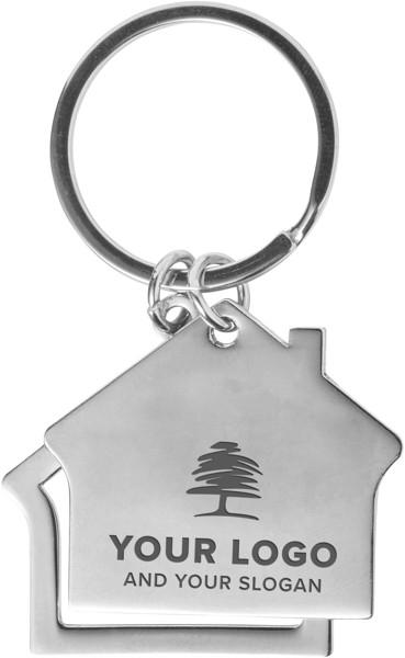 Zinc alloy key holder
