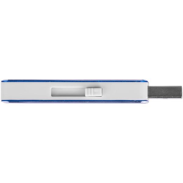 "Memoria USB de 4 GB ""Glide"" - Azul Real"