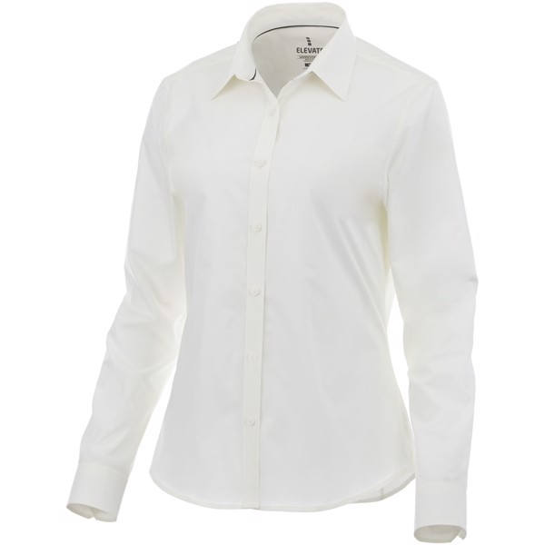 Hamell long sleeve ladies shirt - White / XXL