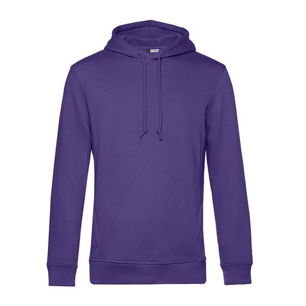 Organic Hooded - Radiant Purple / S