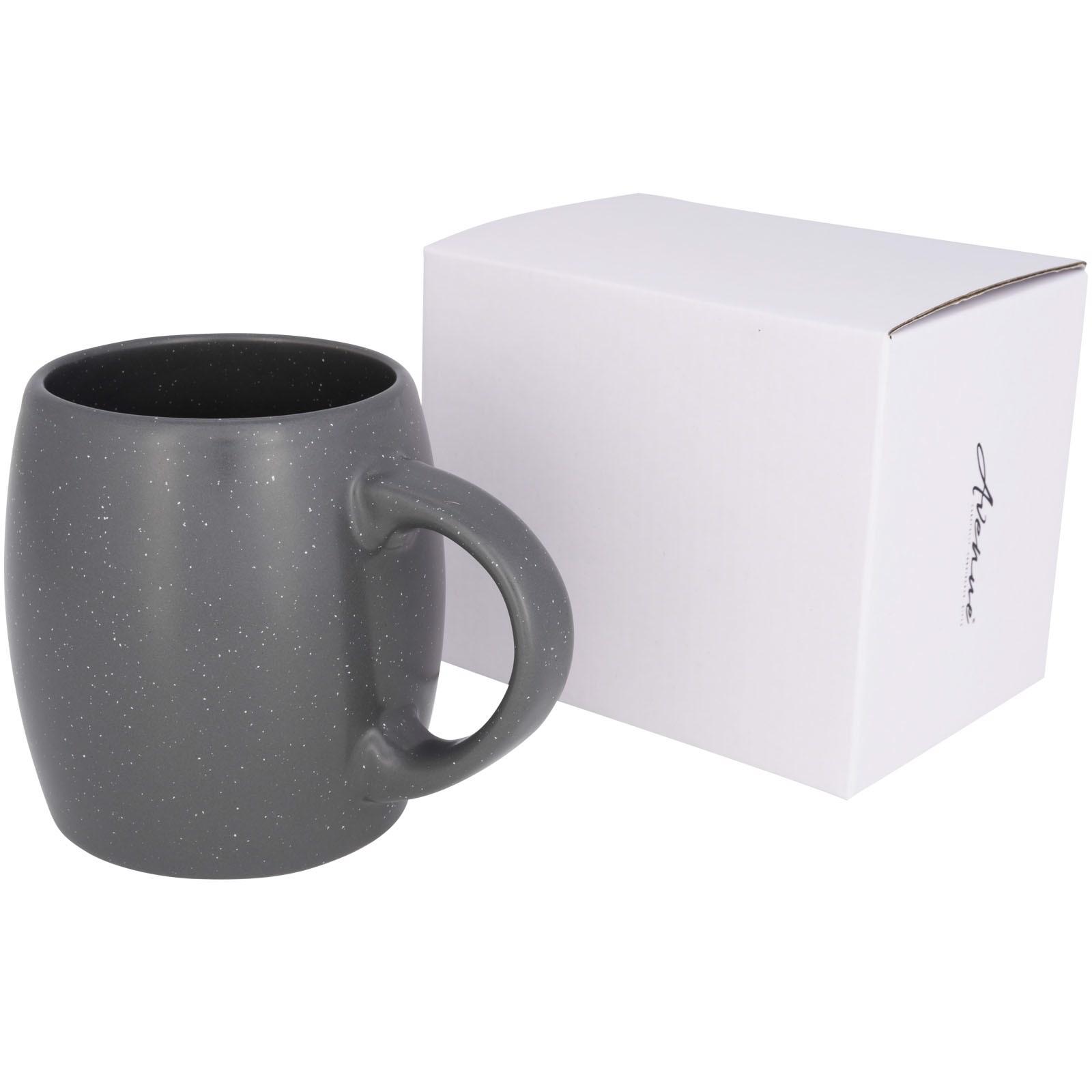 Stein 520 ml Keramiktasse - grau