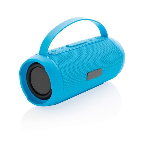 Soundboom waterproof 6W wireless speaker - Blue
