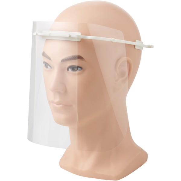 Protective face visor - Medium - White