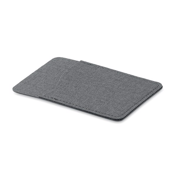 2 tone card holder Shieldtone - Grey