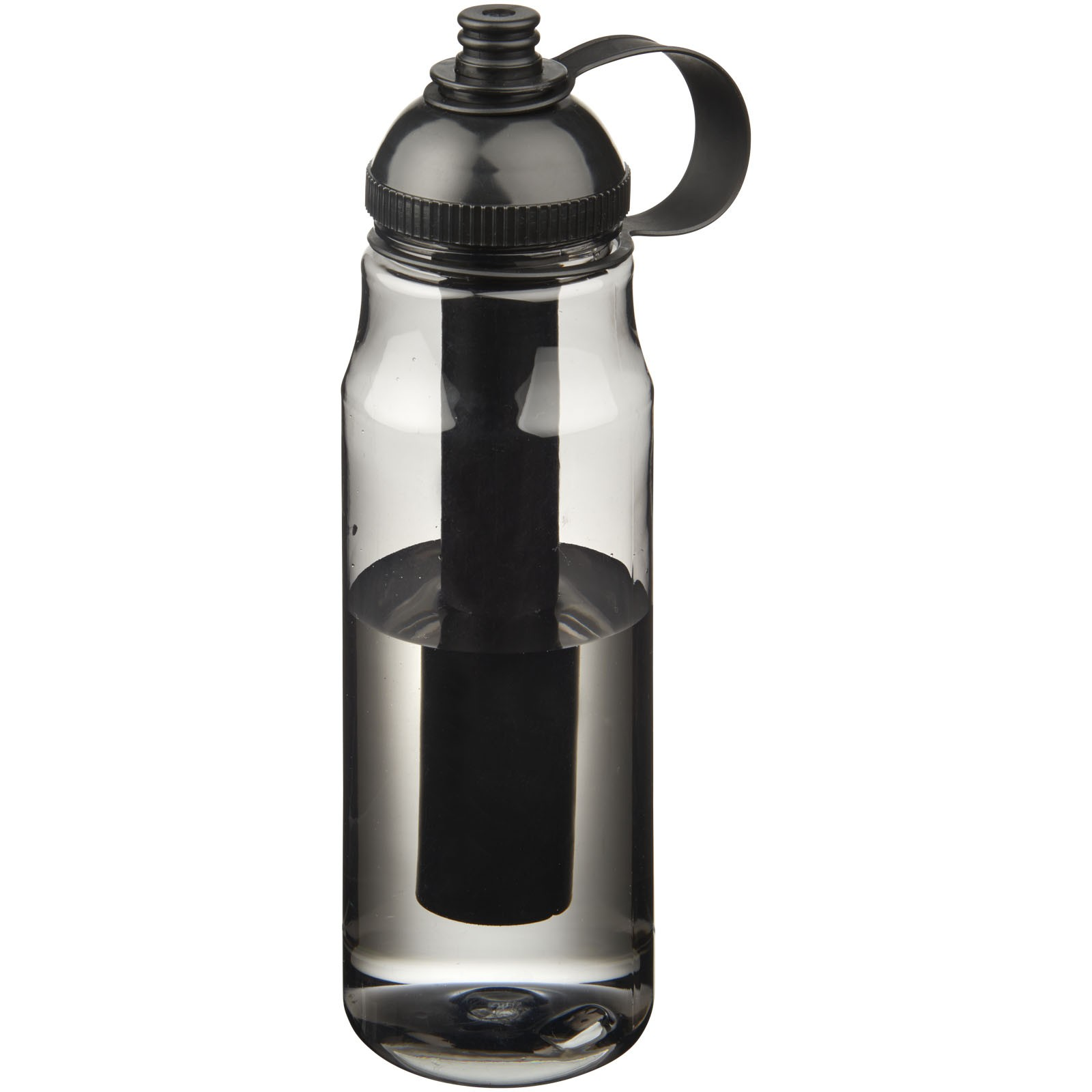 Arctic 700ml Tritan™ ice bar sport bottle - Solid black