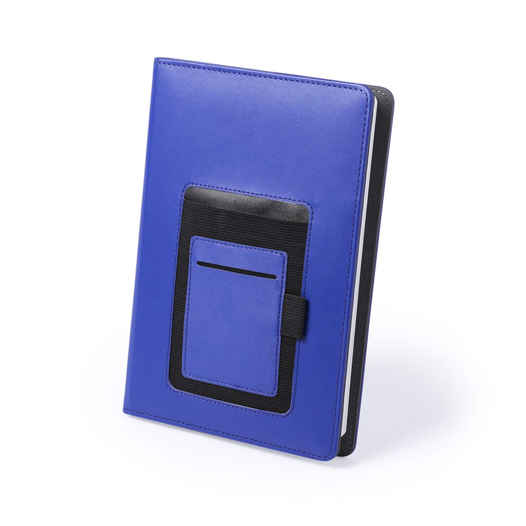 Funda Bloc Notas Roliven - Azul