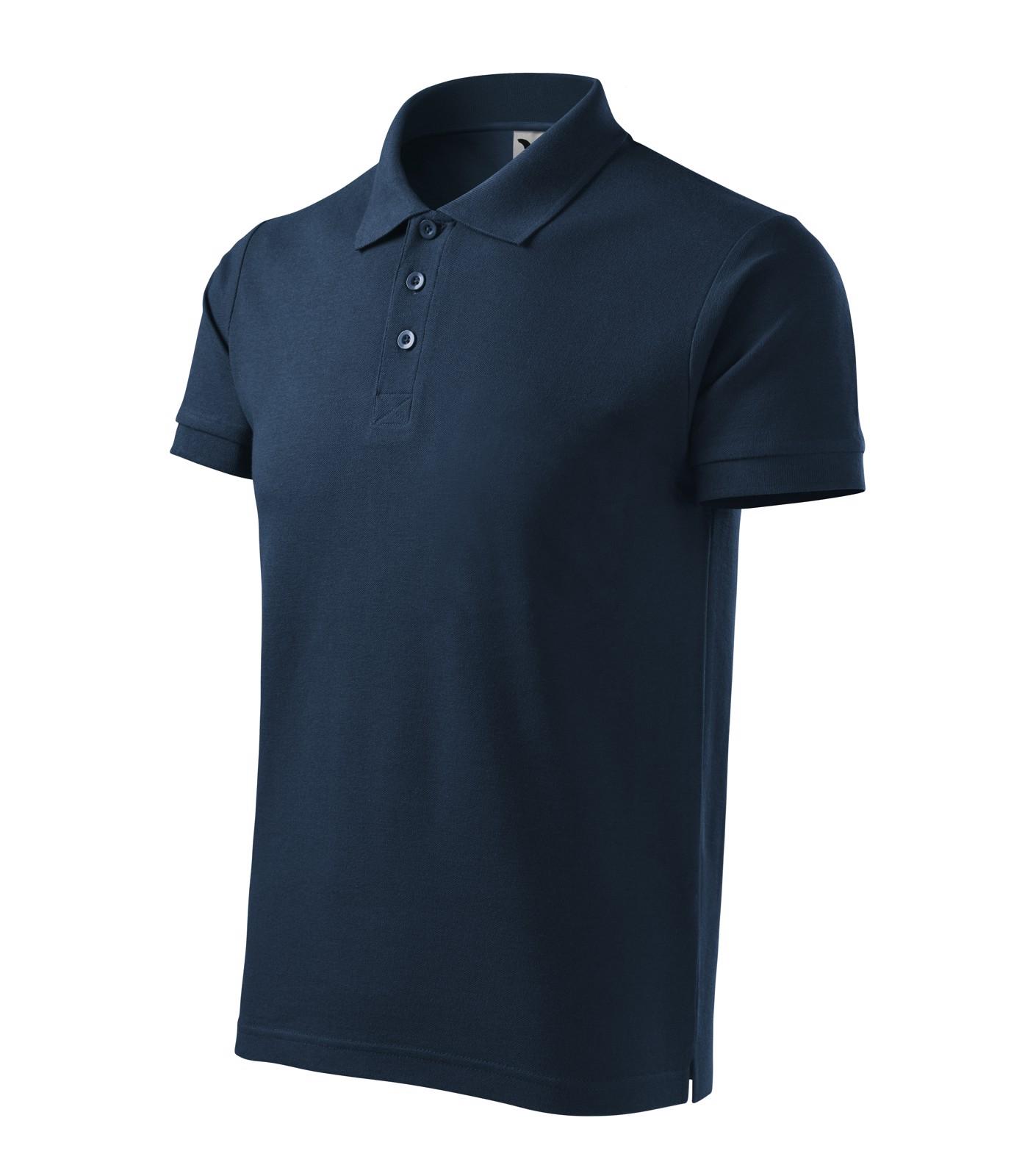 Polo Shirt Gents Malfini Cotton Heavy - Navy Blue / 2XL
