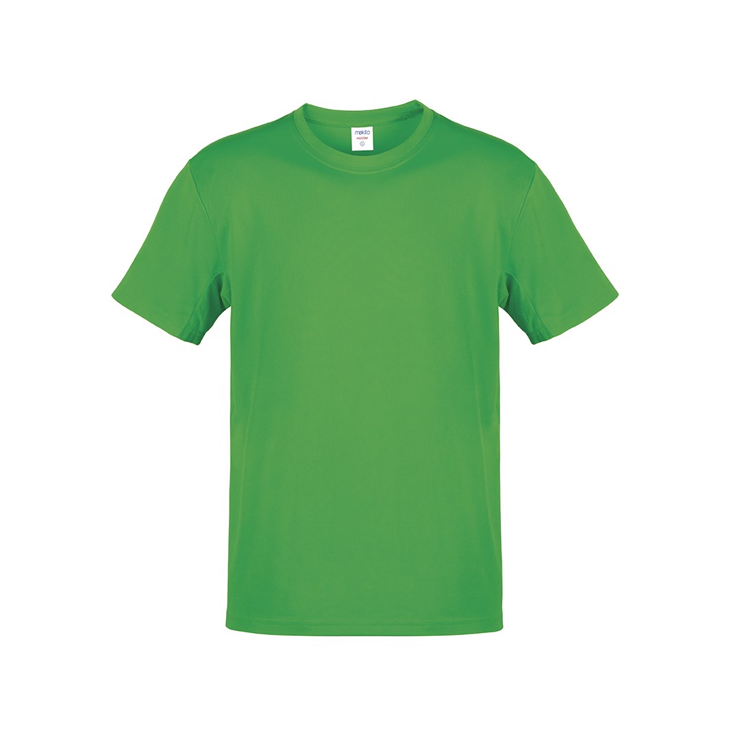 Camiseta Adulto Color Hecom - Verde / M