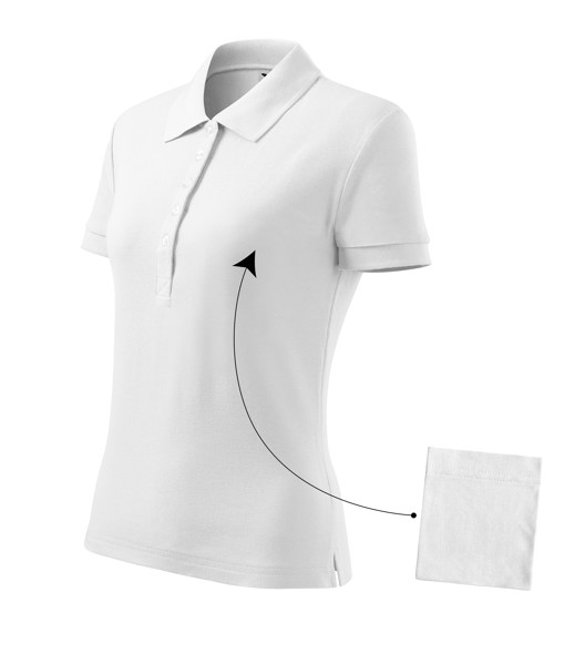 Polo Shirt Ladies Malfini Cotton - White / 2XL