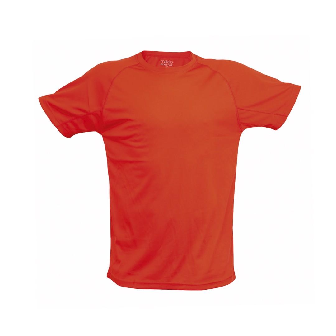 T-Shirt Adulto Tecnic Plus - Vermelho / XL