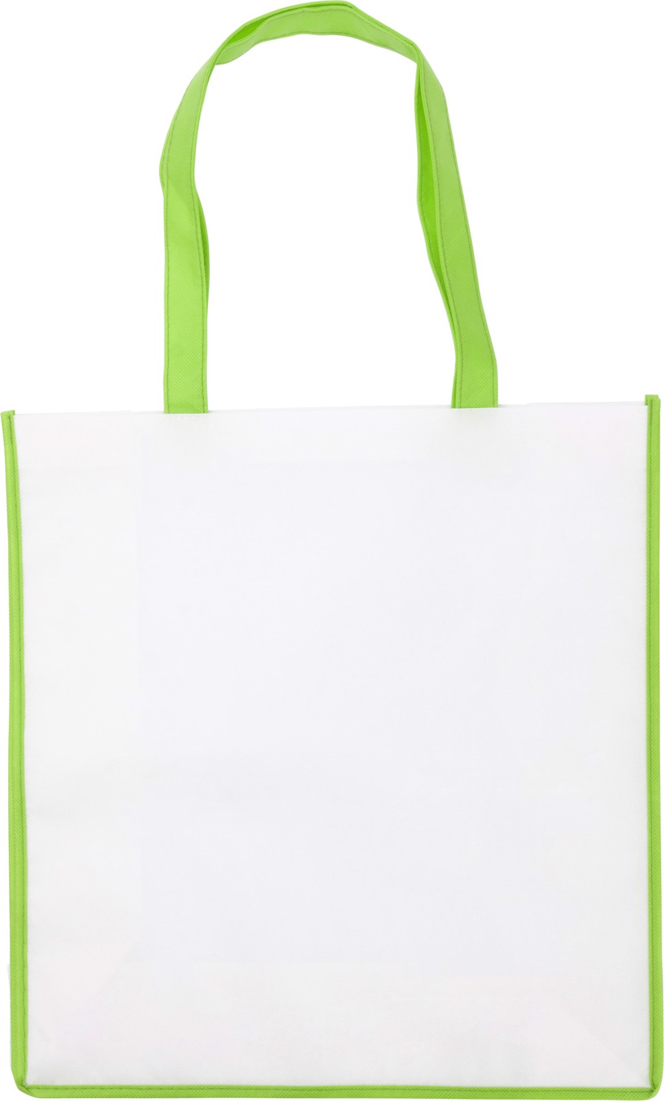 Nonwoven (80 gr/m²) bag - Lime