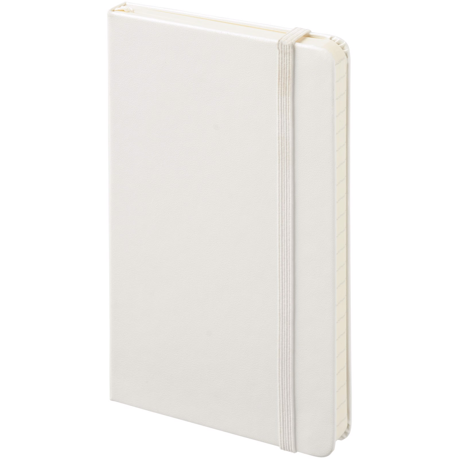 Classic PK hard cover notebook - plain - White