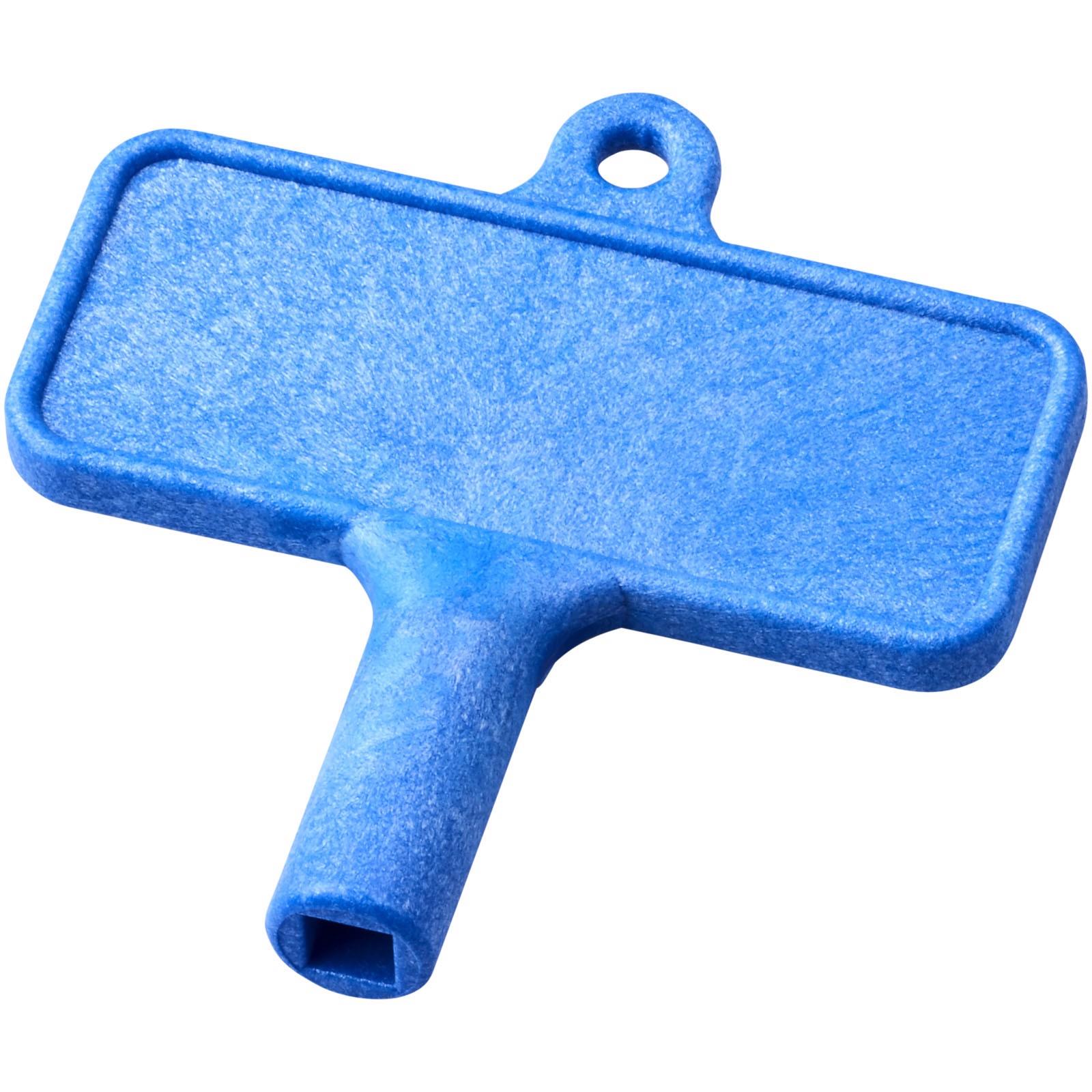 Plastový klíč na radiátor Largo - Modrá
