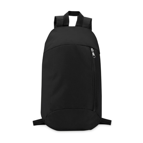 Backpack with front pocket Tirana - Black
