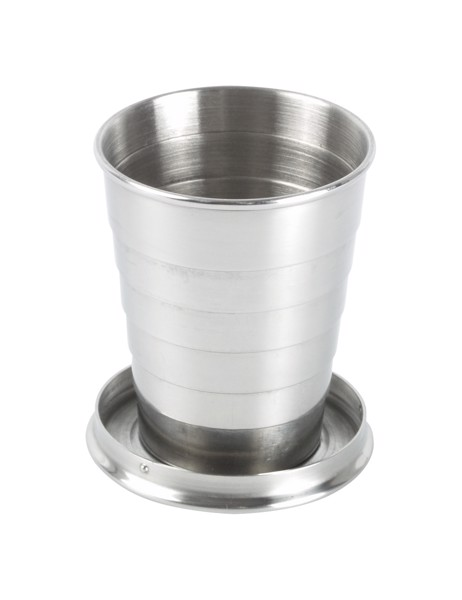 Foldable Cup Nautilus - Silver