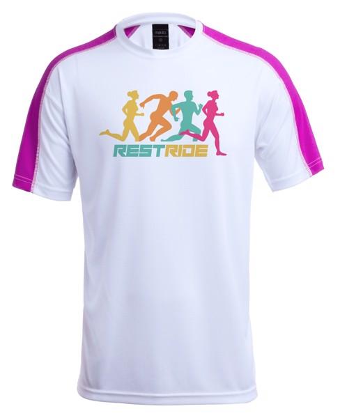 Tričko Pro Dospělé Tecnic Dinamic Comby - Růžová / Bílá / XL