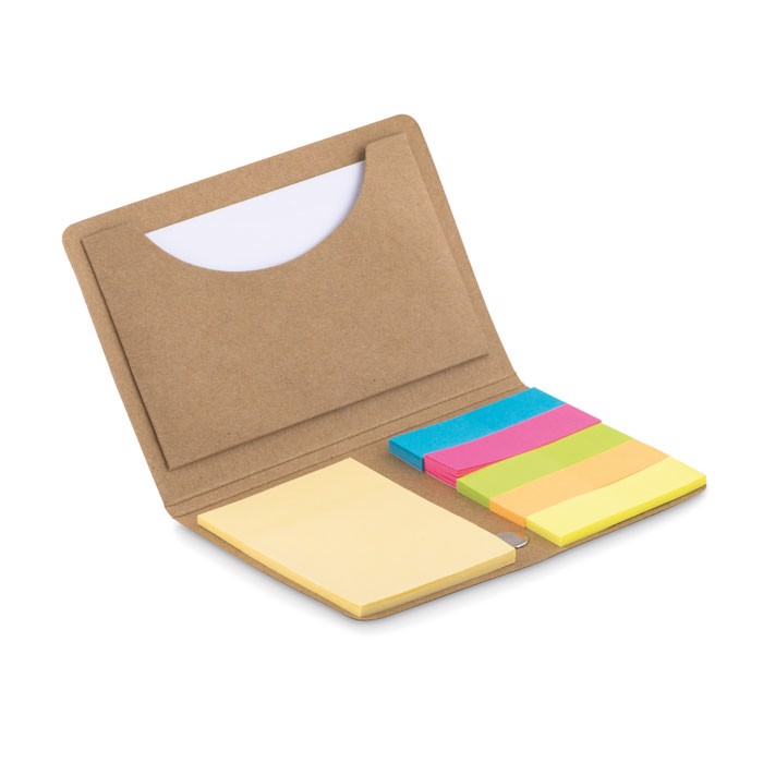 Memopad and sticky notes Foldnote