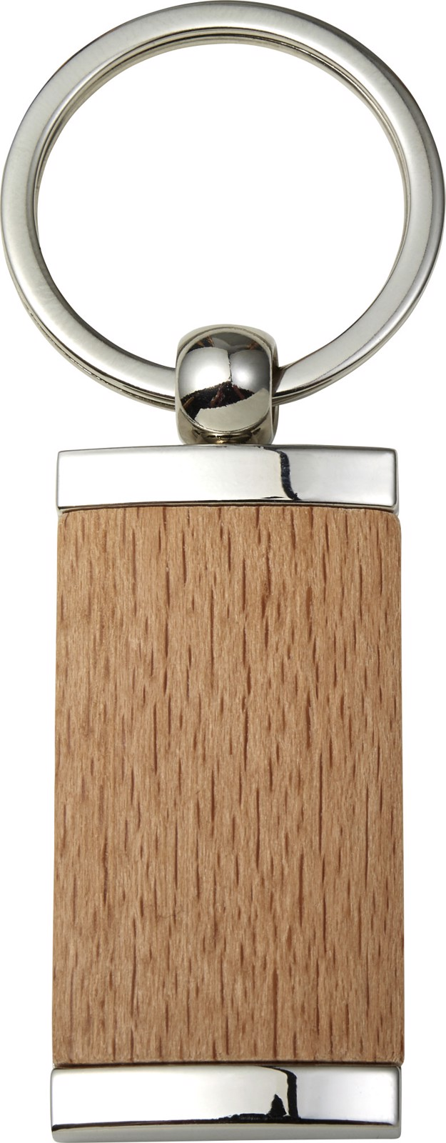 Metal and wooden key holder