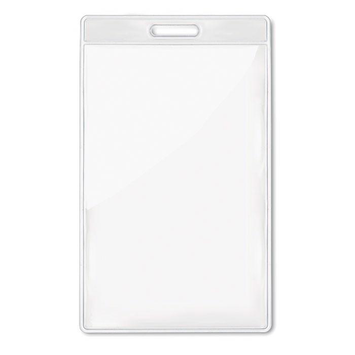 Transparent badge 7.5cmx12.5cm Badgo