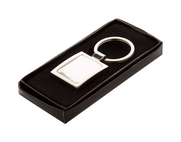 Přívěšek Na Klíče Dice - Stříbrná