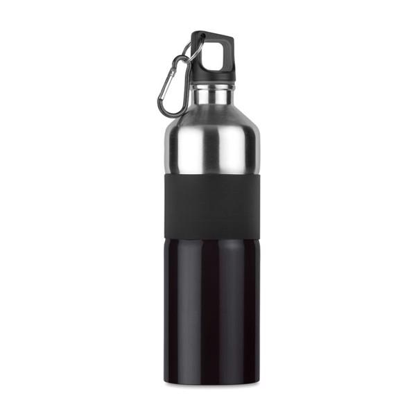 Aluminiowa butelka 750ml Tenere - czarny