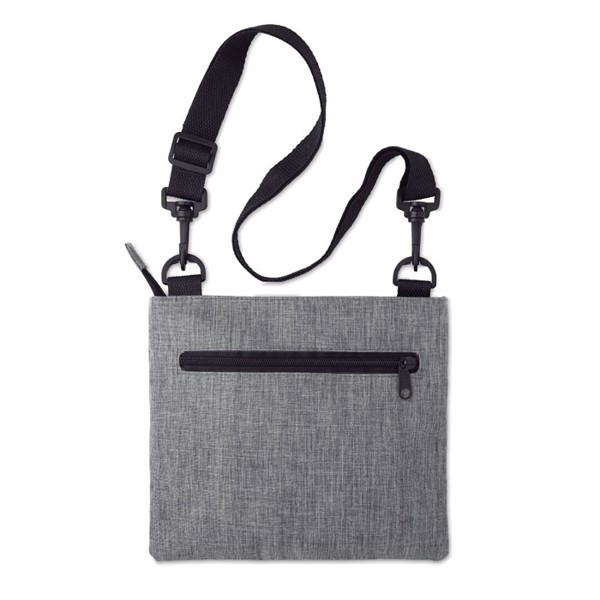 RFID travel bag with strap Manaos - Grey