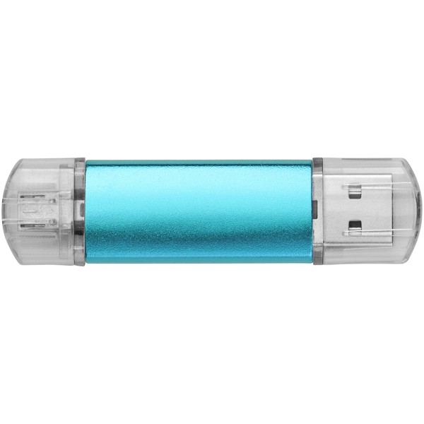 OTG USB Aluminium - Blue / 1GB