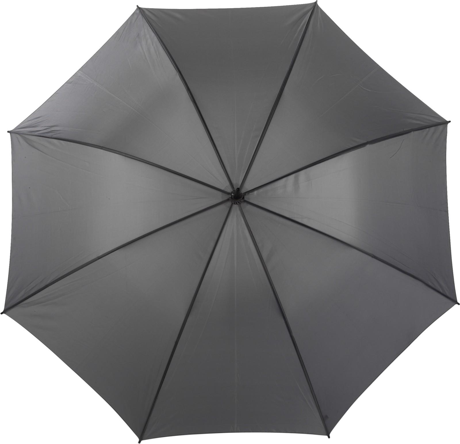 Polyester (210T) umbrella - Grey