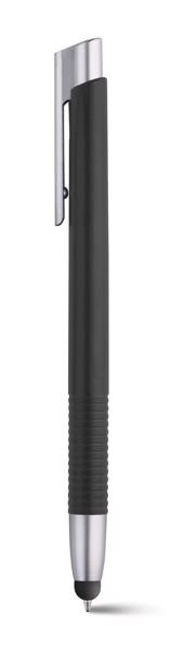 SPECTRA. Kuličkové pero s kovovým povrchem - Černá