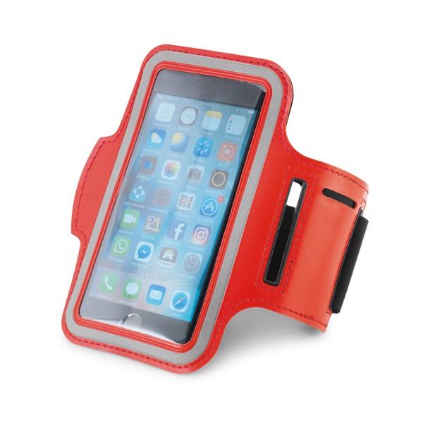 BRYANT. Smartphone armband - Red