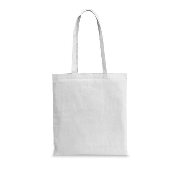 WHARF. Τσάντα από 100% βαμβάκι - Λευκό