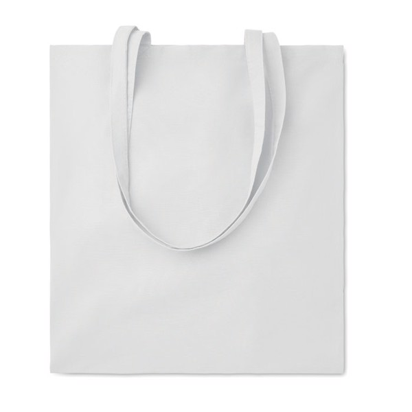 Shopping bag w/ long handles Cottonel Colour - White