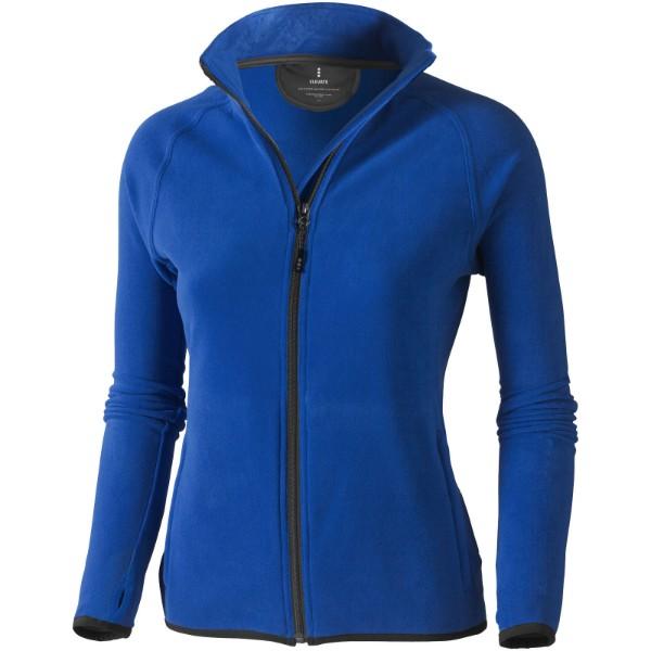 Dámská bunda Brossard z materiálu mikro fleece - Modrá / XL