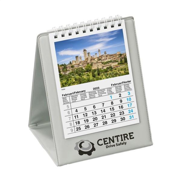 Desk calendar Eurovision - Grey