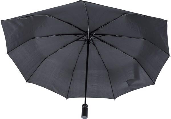 Pongee (190T) strom umbrella - Blue